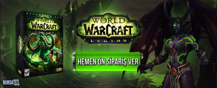 World of Warcraft Legion Stoklarimizda!