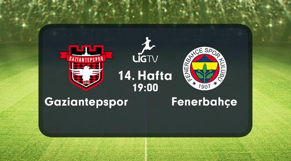 Gaziantepspor – Fenerbahçe (06.12.2015) | HDTV 720p | Full Maç – indir
