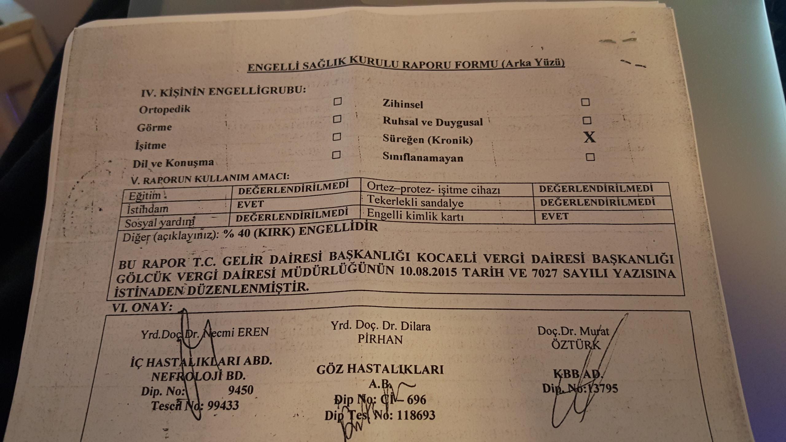 nmyzbl - Ankara Maliye'de  raporum  düşürüldü! Ne  yapabilirim?