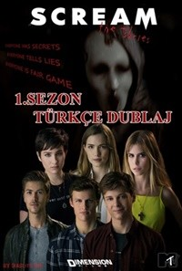 Scream TV Series 1. Sezon  WEB-DL XviD – 720p Tüm Bölümler DUAL TR-EN – Tek Link