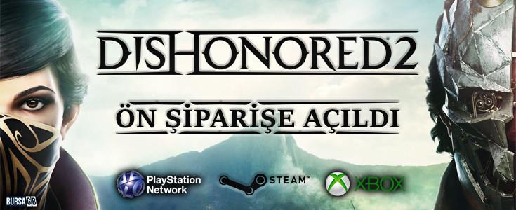 Dishonored 2 Ön Siparise Açildi