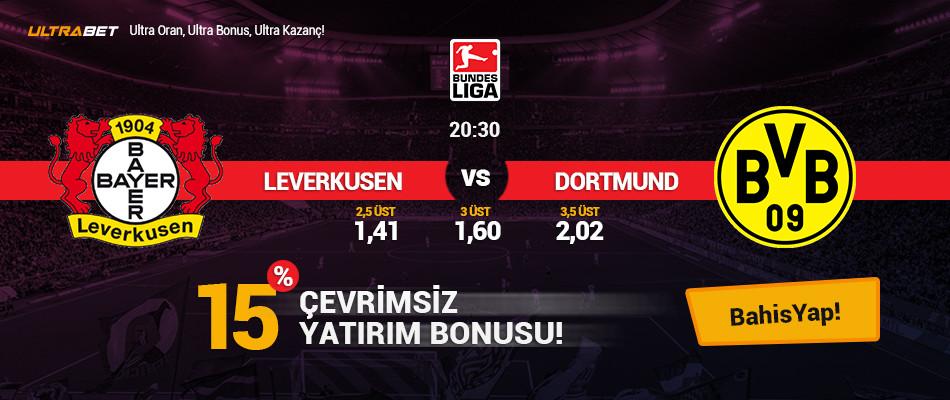 Leverkusen - Dortmund Canlı Maç İzle