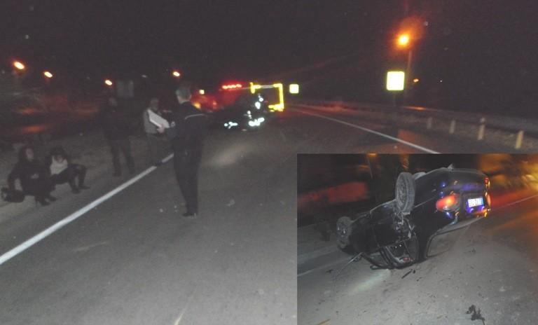 Mut'ta meydana gelen 2 ayrı trafik kazası: 8 yaralı