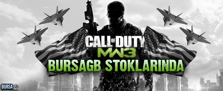 Call of Duty  Modern Warfare 3 Bursa GB Stoklarinda!