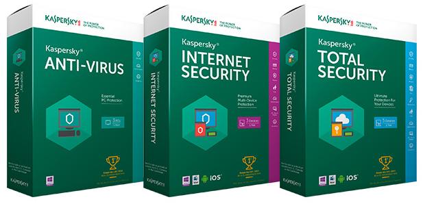 Kaspersky Antivirus | Internet Security | Total Security 2016 16.0.1.445 Final