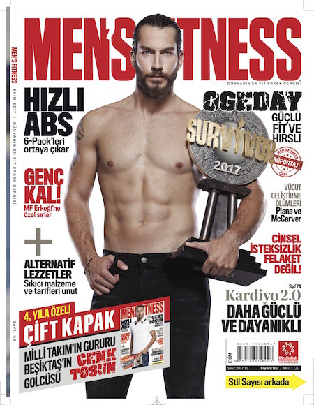 Men's Fitness Ekim 2017