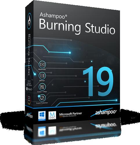 Ashampoo Burning Studio 19.0.0.25 | Katılımsız