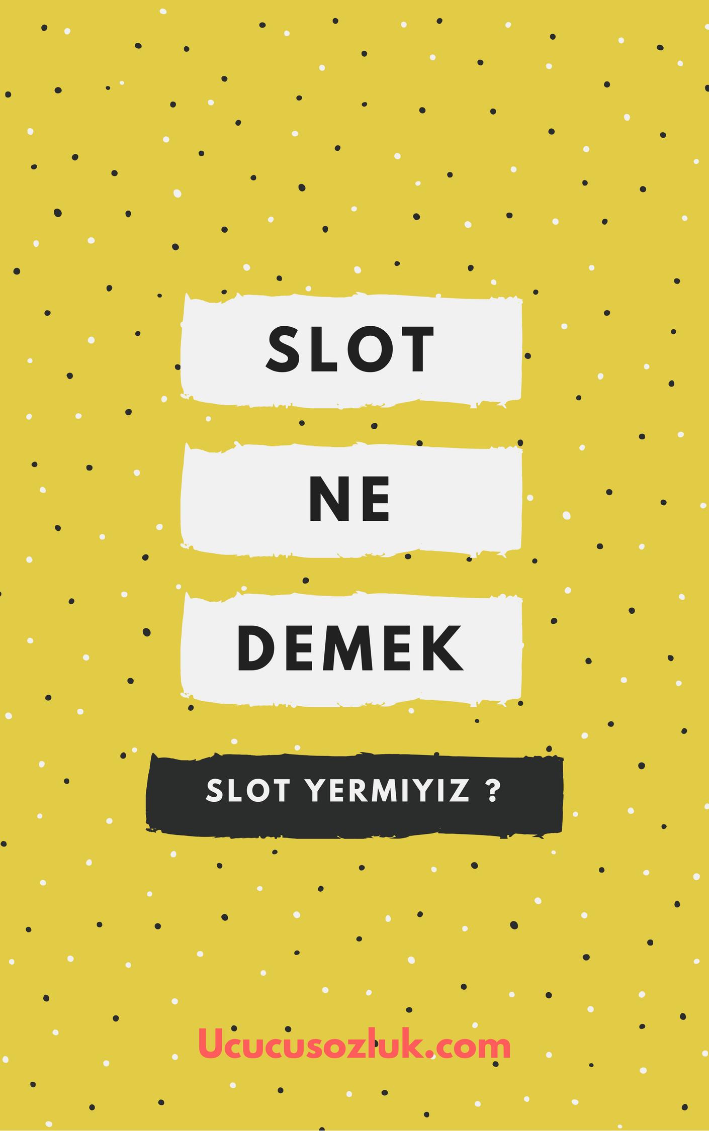 Slot Yemek