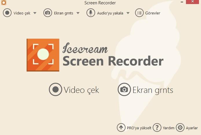 IceCream Screen Recorder Pro 5.20 Türkçe   Katılımsız