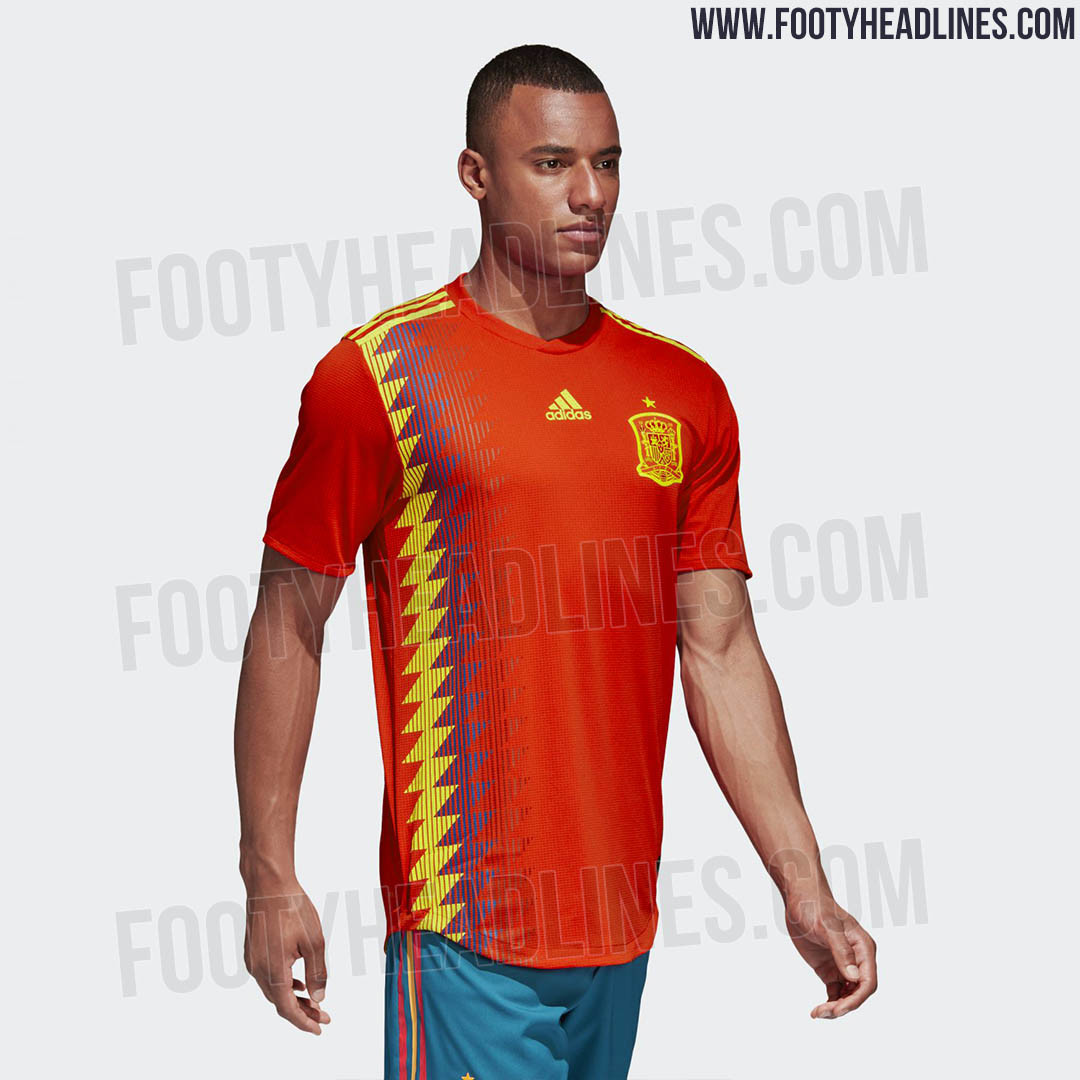Spain 2018 World Cup Kit (2)