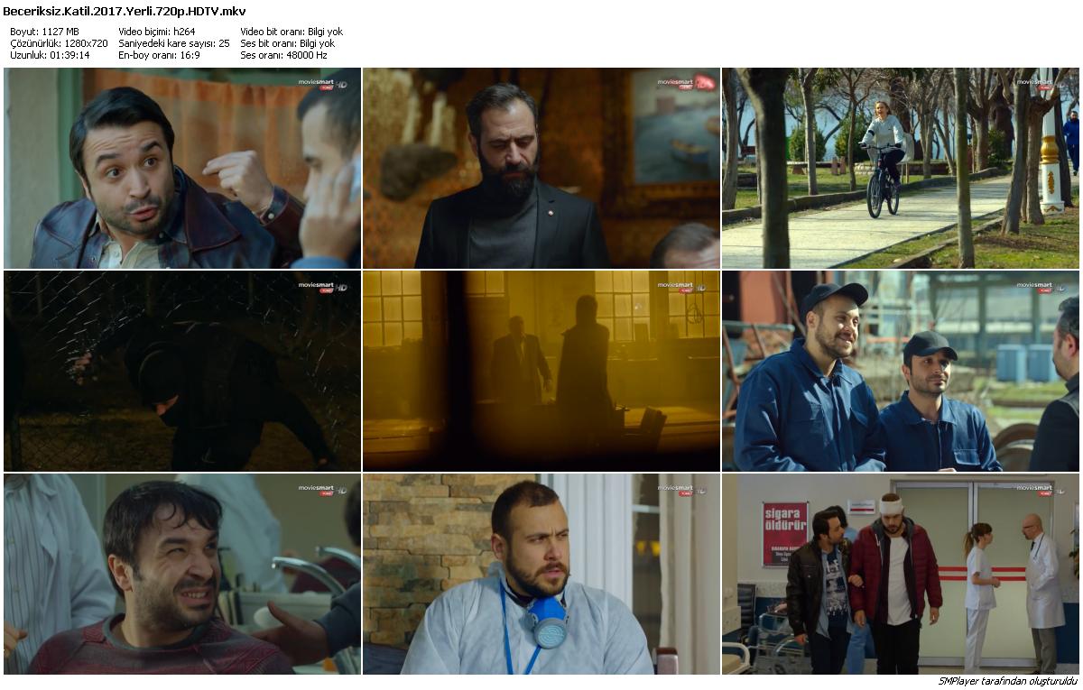 Beceriksiz Katil 2017 Yerli Film HDTV 720p