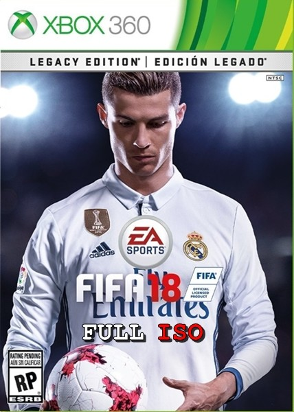 FIFA 2018 Legacy Edition Xbox 360 Oyun İndir [MEGA] [FULL-ISO] [PAL/NTSC-U]
