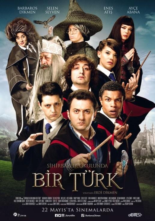 Sihirbazlık Okulunda Bir Türk 2015 (Yerli Film) 720p DVDRip Upscale DD5.1 AC3