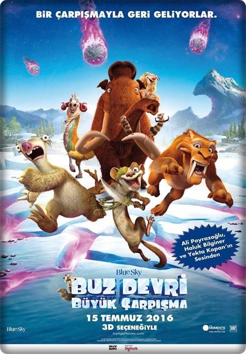 Buz Devri 5: Büyük Çarpışma - Ice Age: Collision Course 2016 (720p - 1080p) BluRay DUAL (TR-EN)