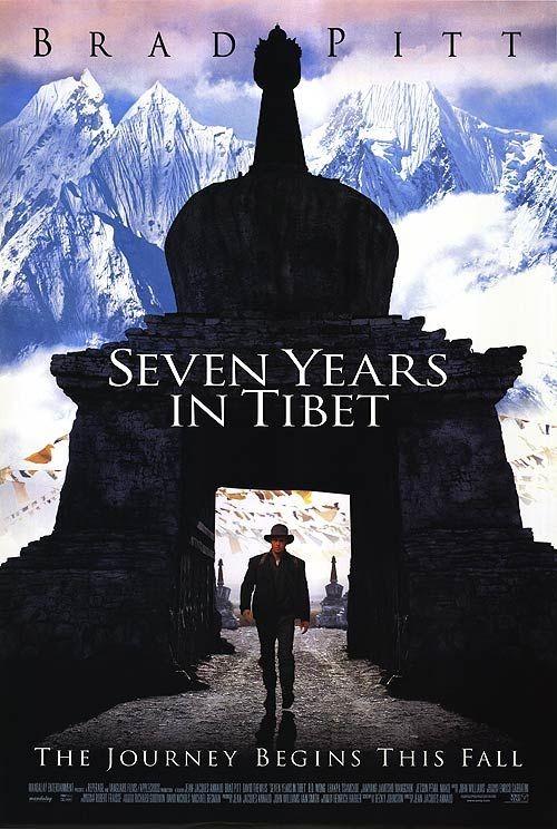 Tibet'te Yedi Yıl - Seven Years in Tibet (1997) - türkçe dublaj film indir