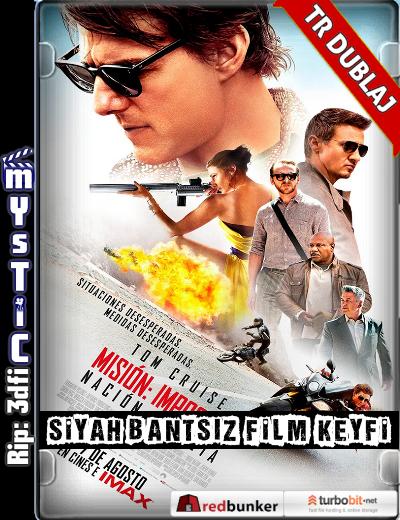 Mission: Impossible – Rogue Nation – Görevimiz Tehlike 5 2015 (ANAMORPHIC Siyah Bantsız BluRay m1080p) Türkçe Dublajlı film indir