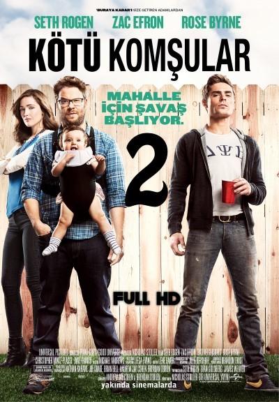Kötü Komşular 2 - Neighbors 2: Sorority Rising (2016) hd türkçe dublaj film indir