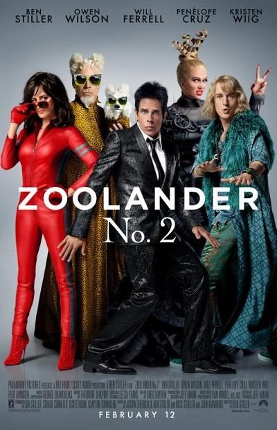 Zoolander 2 2016 BRRip XviD Türkçe Dublaj – Film indir