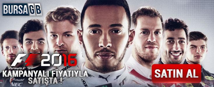F1 2016 CD Key Kampanyali Fiyatiyla Satista !