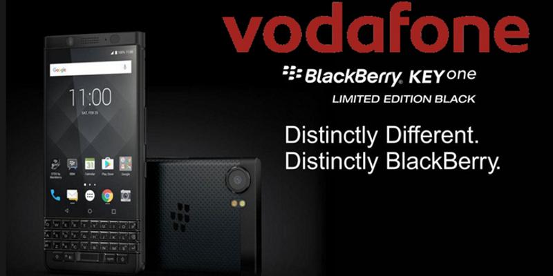 BlackBerry KEYone, Vodafone Türkiye Tarafından Satışa Sunuluyor!
