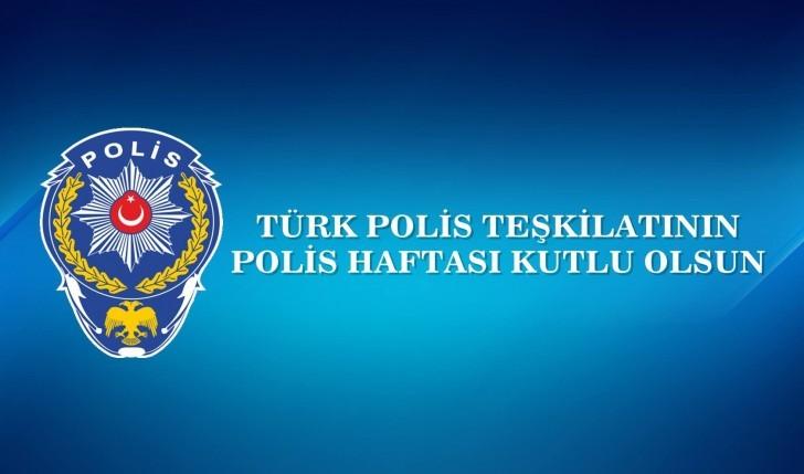 POLİS TEŞKİLATIMIZIN KURULUŞ YIL DÖNÜMÜ KUTLU OLSUN