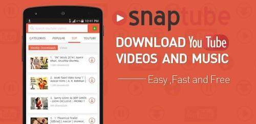 SnapTube - YouTube Downloader HD Video v4.33.0.10316 [Vip] Apk Full İndir