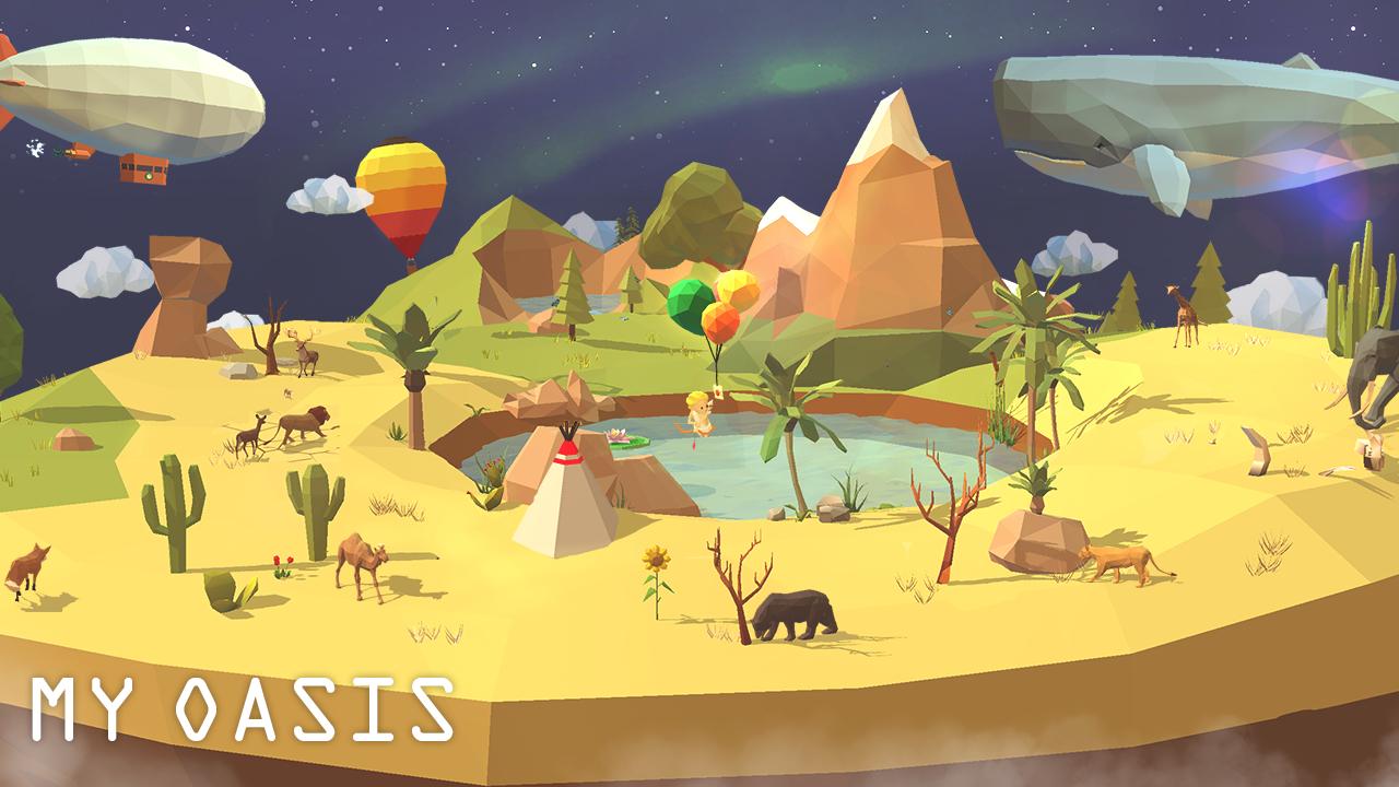 My Oasis - Relaxing Sanctuary Apk Oyun