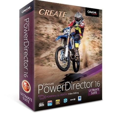 CyberLink PowerDirector Ultimate Suite 16.0.2420.0 Full İndir