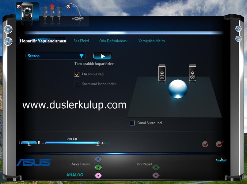oVA2AR Realtek High Definition Ses Kartı Problem ve Çözümleri