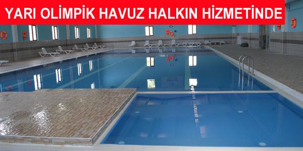 Yüzme Havuzu hizmete girdi