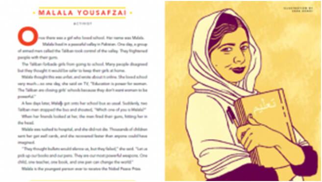 malala yousapzai kısa hikaye