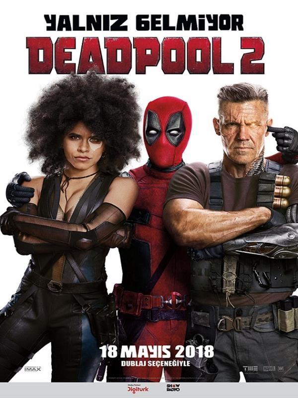 Deadpool 2 (2018) Türkçe Dublaj 720p Sinema Çekimi Torrent İndir