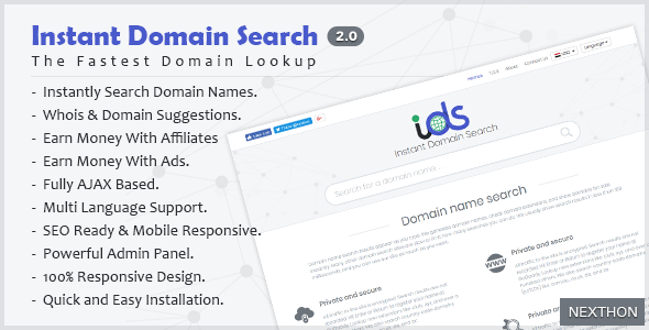 Instant - Domain Arama Scripti