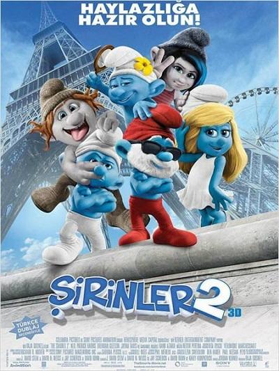 Şirinler 2  - The Smurfs 2  (2013)   m720p BluRay x264 Türkçe Dublaj - Tek Link
