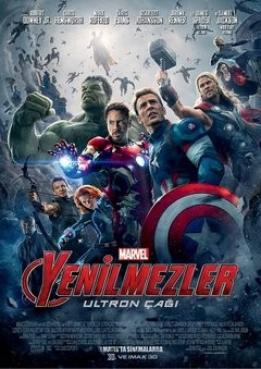 Yenilmezler: Ultron Çağı - Avengers: Age of Ultron 2015 Türkçe Dublaj MP4