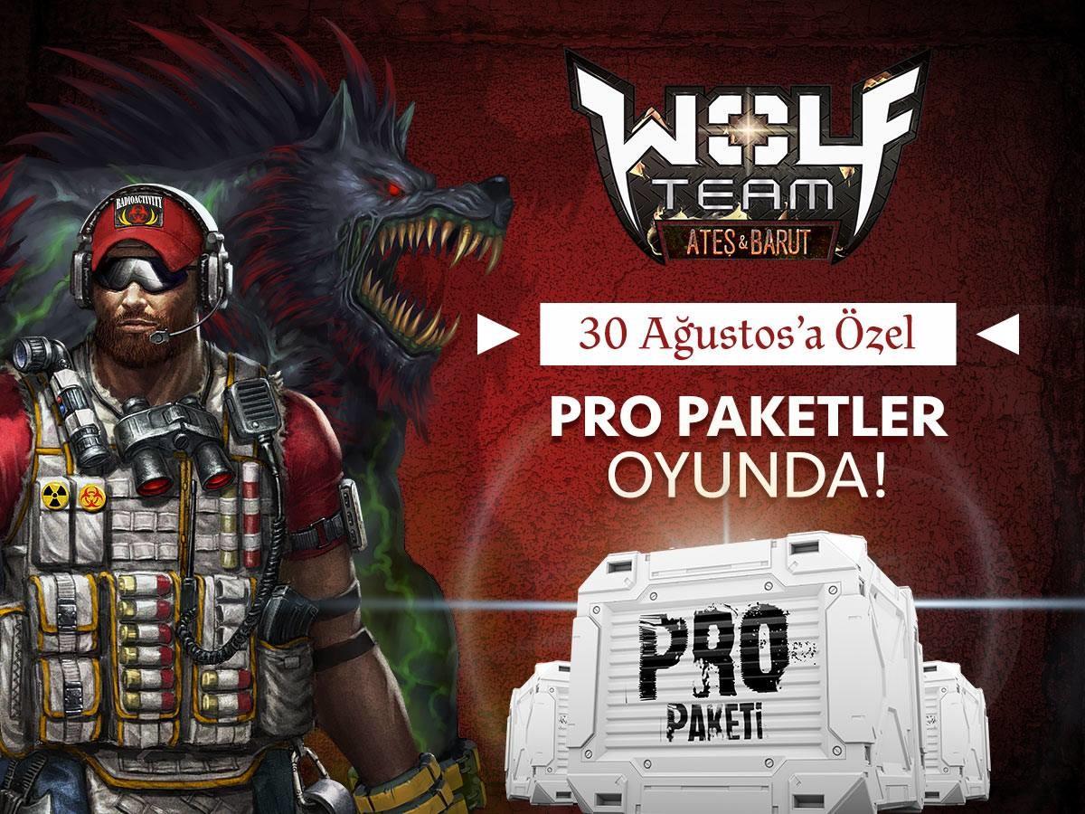 Pro Paketler Oyunda!