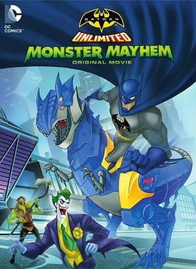 Batman Unlimited: Monster Mayhem 2015 (Türkçe Dublaj) BRRip XviD