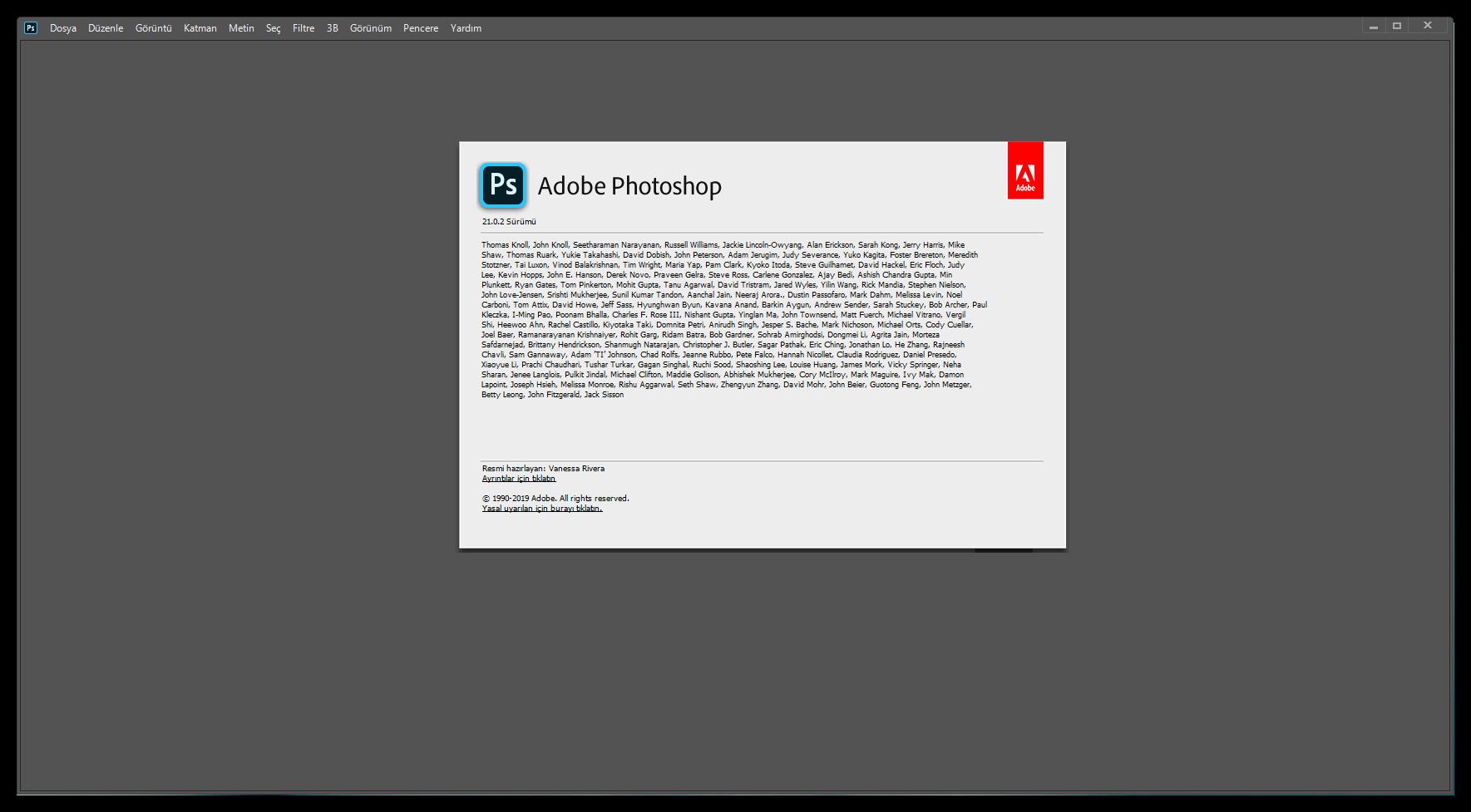 Adobe Photoshop 2020 21.0.2.57 (x64) | Katılımsız