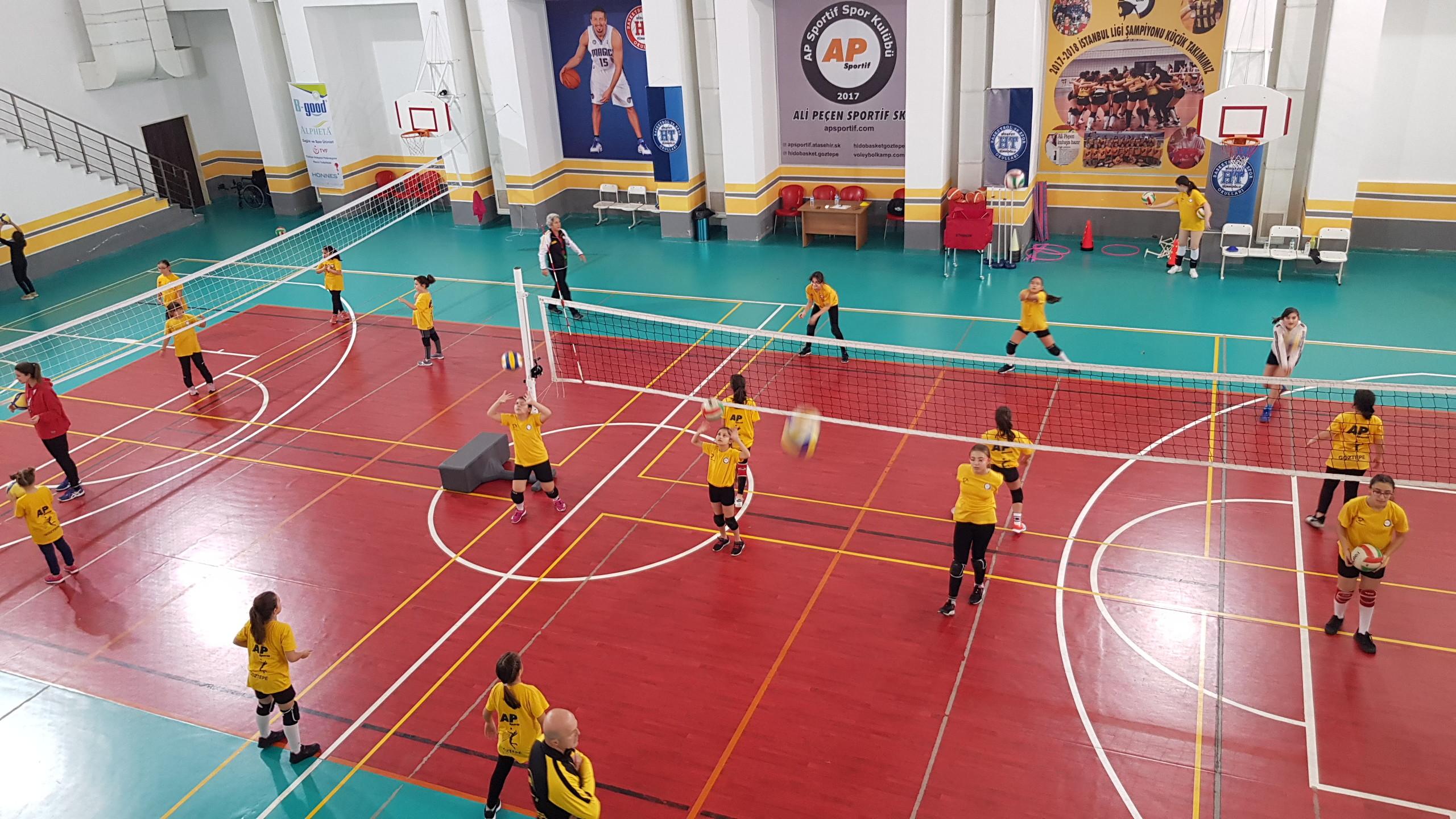 göztepe voleybol okulu, ümraniye voleybol kulübü.