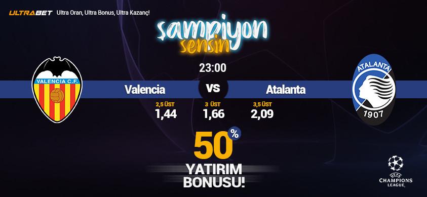 Valencia - Atalanta Canlı Maç İzle