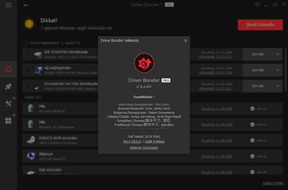 IObit Driver Booster Pro 7.0.2.436 | Katılımsız