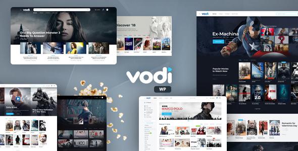 Vodi – Video WordPress Theme for Movies & TV Shows + Plugins
