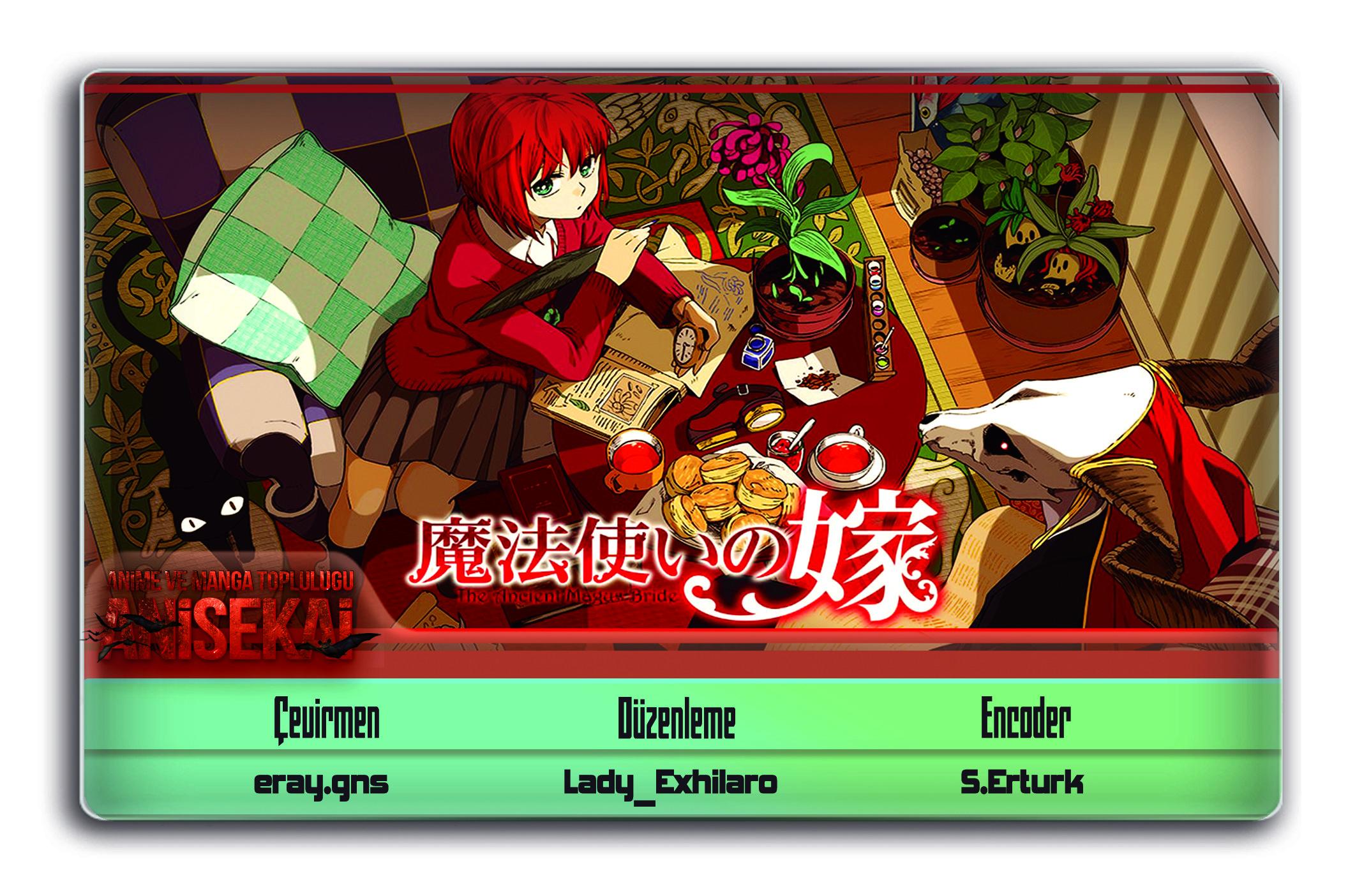 Mahoutsukai no Yome OVA 3. Bölüm eklenmiştir. Seri tamamlanmıştır.