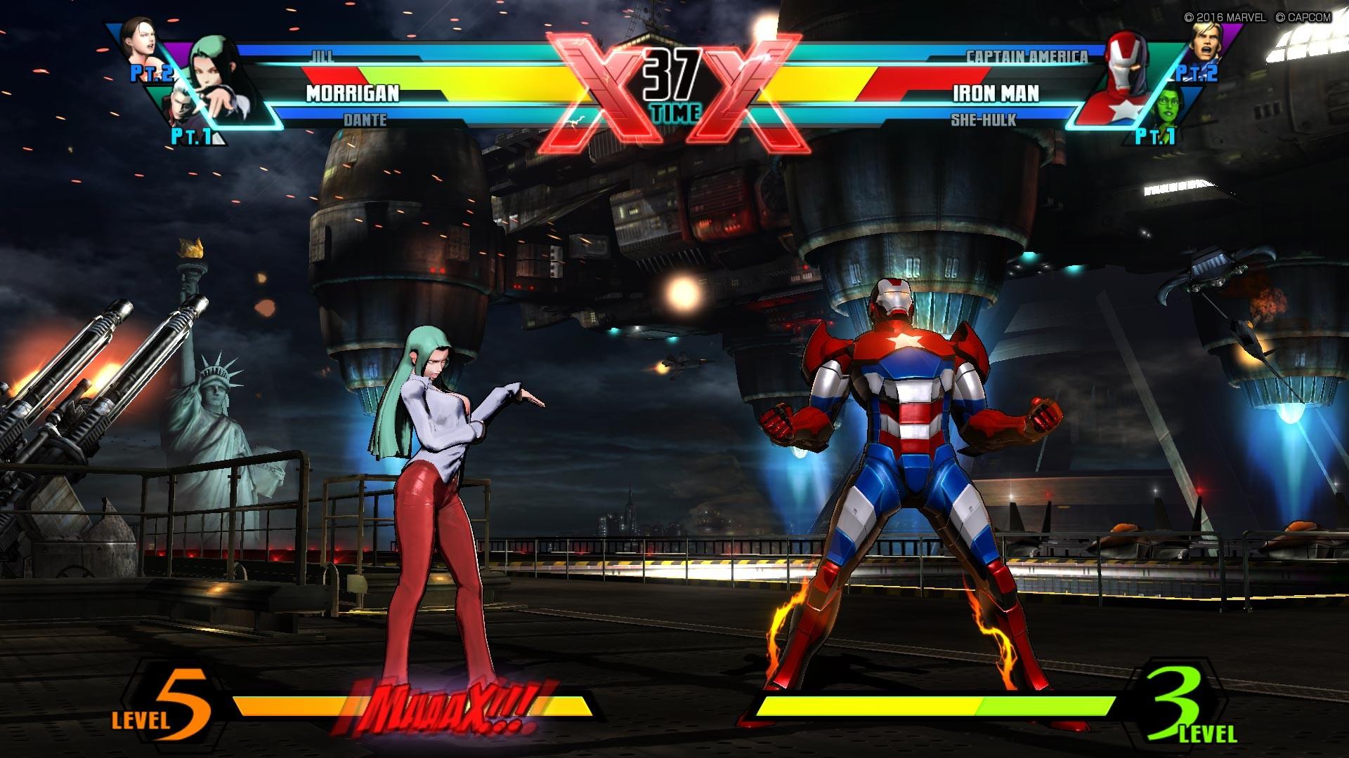 Ultimate Marvel vs Capcom 3 - CODEX