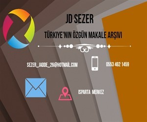 jdsezer│türkiyenin özgün makale arşivi