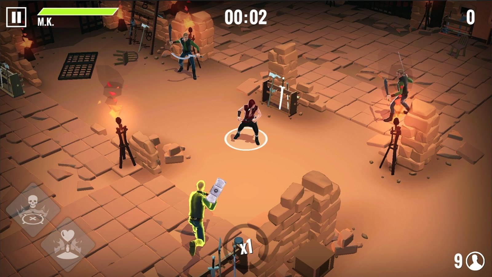 Into the Badlands Blade Battle Android