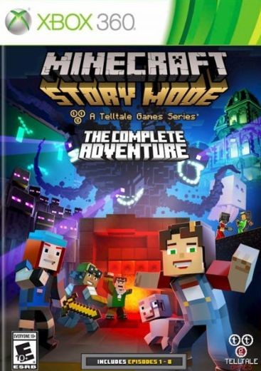 Minecraft Story Mode The Complete Adventure Xbox 360 Oyun İndir [MEGA] [FULL-ISO] [PAL/NTSC-U]