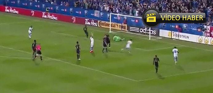 Galatasaray'ın eski yıldızından müthiş gol!