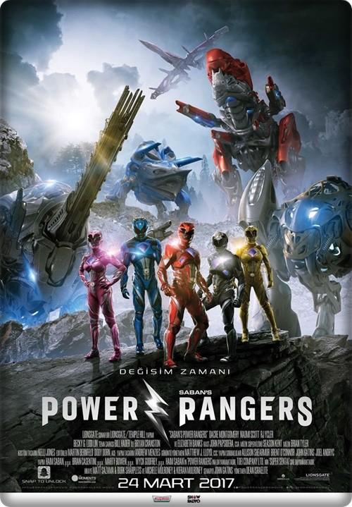 Power Rangers 2017 (Türkçe Altyazı) HDRip XviD