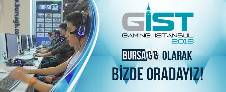 Gaming İstanbul Fuarındayız